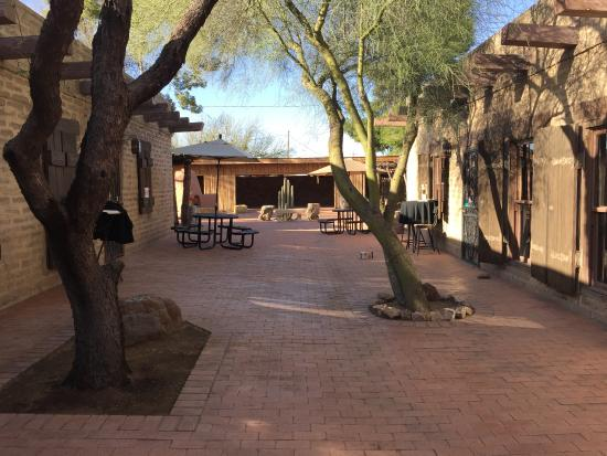Tubac, AZ: Front Door and Back Area