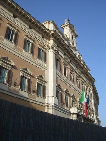 esterno picture of palazzo di montecitorio sede della