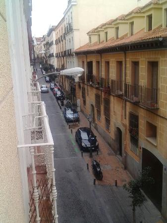 Madrid SmartRentals Gran Vía: Desde la terraza del apartamento