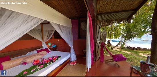 Hotel Eco-Lodge Ravoraha : bungalow double