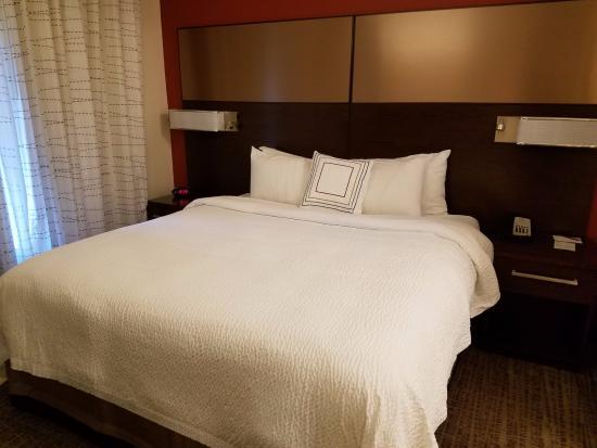 bed in bedroom picture of residence inn east lansing east lansing rh tripadvisor com