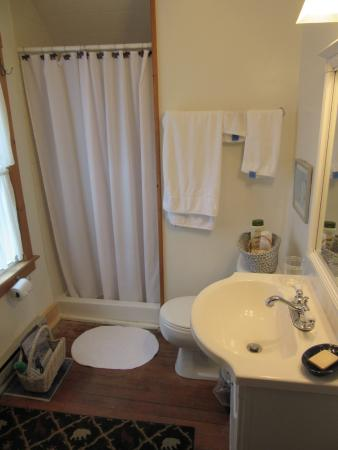 Winterberry Bed & Breakfast: Adirondack Room bath