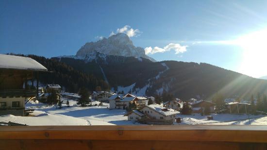 Hotel Val: Magnifica vista dall'hotel!!!