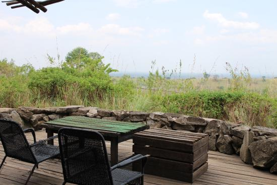 Kyambura Gorge Lodge: Beautiful views