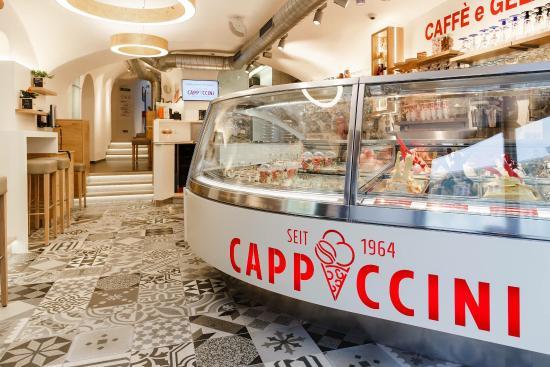Ice cream shop - Pizzeria Cappuccini