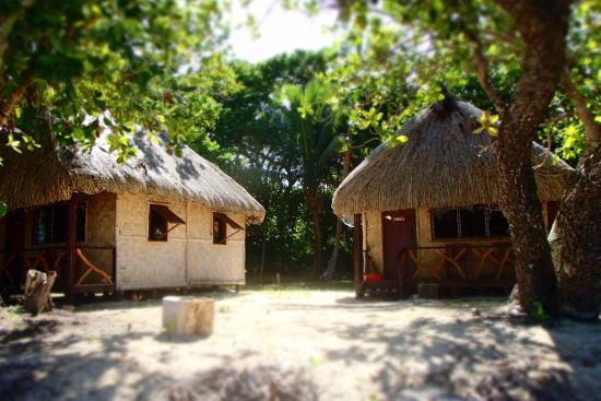 Leleuvia Island, Fiyi: private bures
