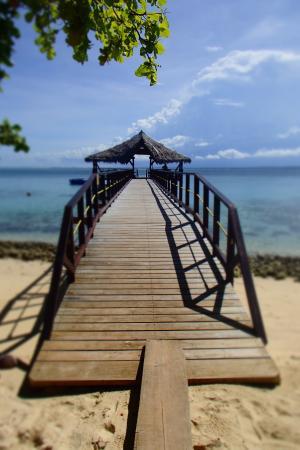 Leleuvia Island, Fiyi: pier