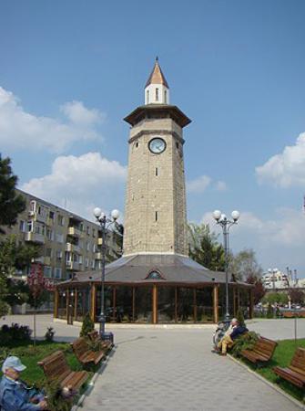 Giurgiu, Rumänien: Le tour d'horloge