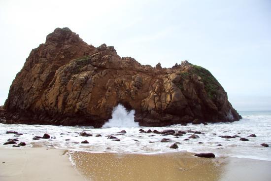 Pfeiffer Beach Keyhole Rock
