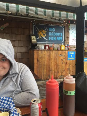 Picture of big daddy 39 s fish fry tofino for Fish daddy s