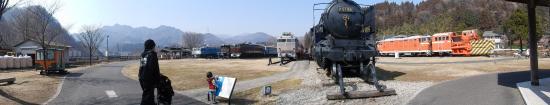 Usui Toge Railroad Cultural Village: 展示車両の数も種類も多いです!