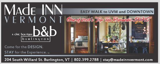 Made Inn Vermont An Urban Chic Bed And Breakfast Landmark B Vt