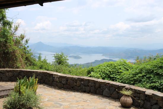 Virunga Lodge: Stunning views