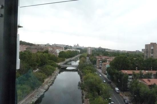 Teleferico: The Manzanares river