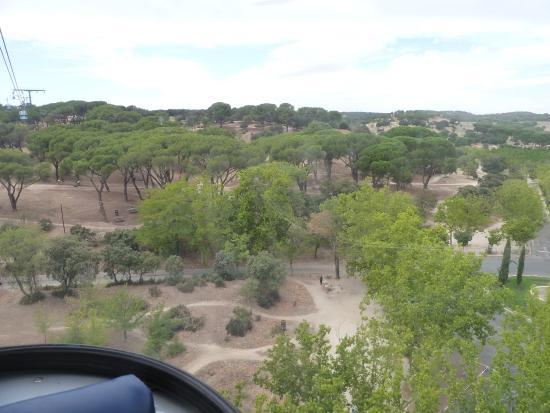 Plaza de espa a buildings picture of teleferico madrid - Casa de campo park ...