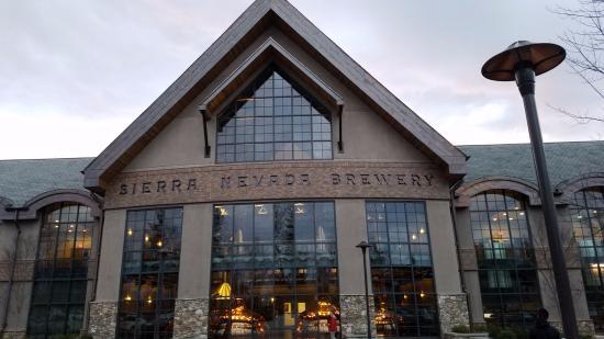 the front picture of sierra nevada brewery mills river tripadvisor rh tripadvisor com