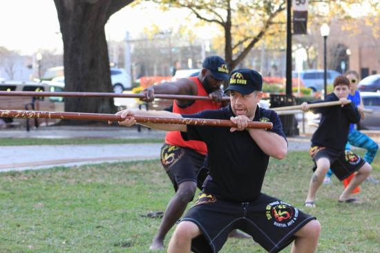 Dragon pole - Picture of Wing Chun Kung Fu Downtown Lakeland