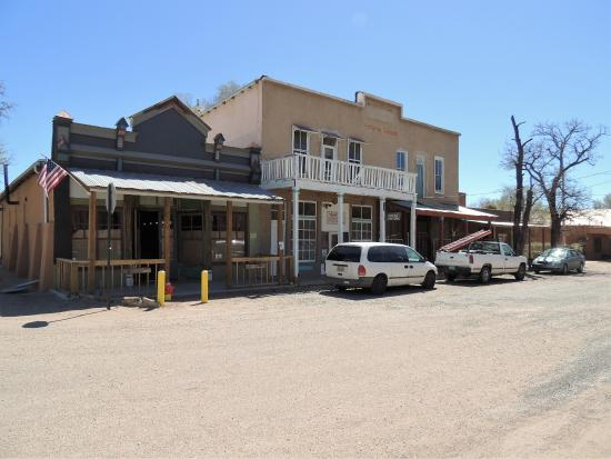 Cerrillos, Nowy Meksyk: downtown