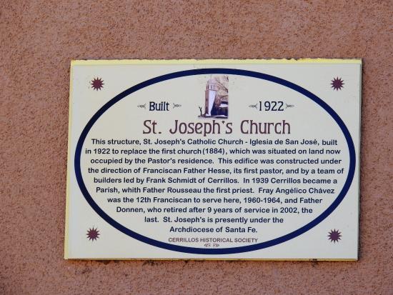 Cerrillos, Нью-Мексико: church history