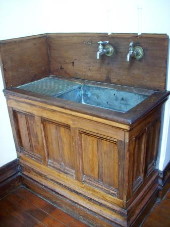 Flavel House Museum: Pantry Sink. State Of The Art Zinc, In 1880u0027s.