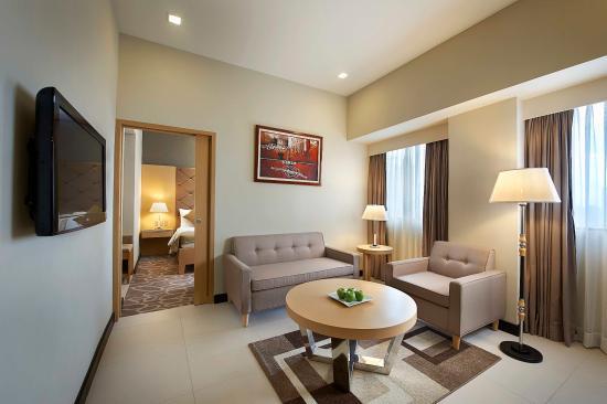 High Quality Berjaya Makati Hotel   Philippines: Berjaya Makati Hotel Executive Suite    Living