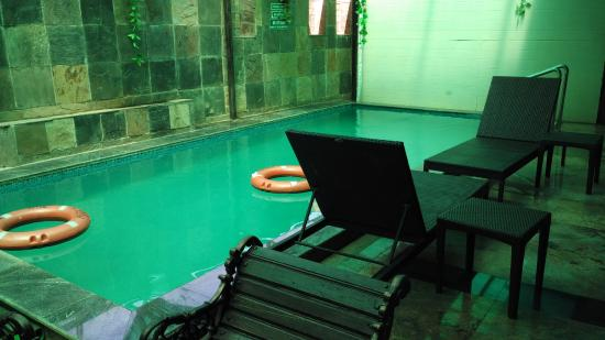 Personal Swimming pool in Aqua Suite rooms - Picture of The Grand ...