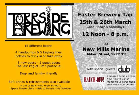 Torrside Brewing: Easter Brewery Tap! Good Friday/Easter Saturday