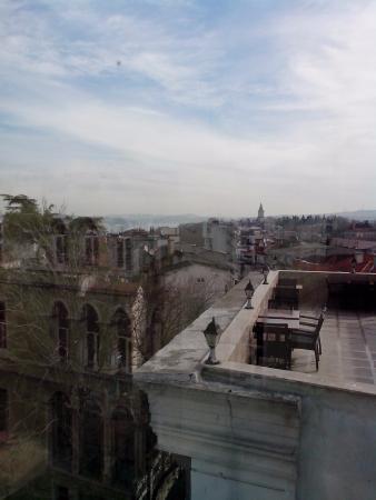 Aldem Hotel: Вид из ресторана