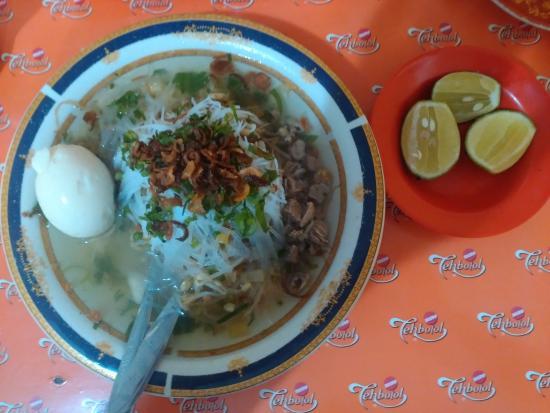 Sup Ubi Datuk Museng Dalam Lorong : Satu porsi sup ubi lengkap
