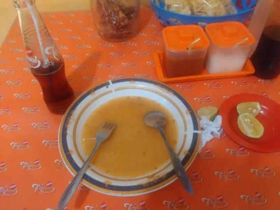 Sup Ubi Datuk Museng Dalam Lorong : Hanya tersisa sedikit kuah
