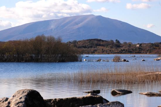 Nephin Mountain from Lough Cullin, Pontoon