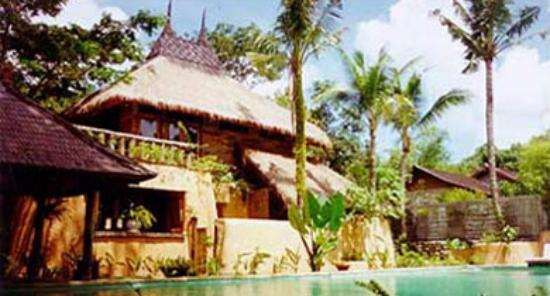 Rare Angon Villas: Rumah Suar by the main pool before we built the bale