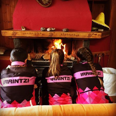 Candanchu, Hiszpania: relax en el fogón tras una jornada de ski