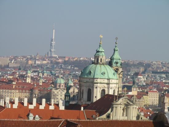 A view from prague castle picture of prague airport for Prague airport transfers sro reviews