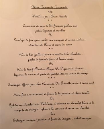 Menu En Février 2016 Photo De Le Poeme De Grignan