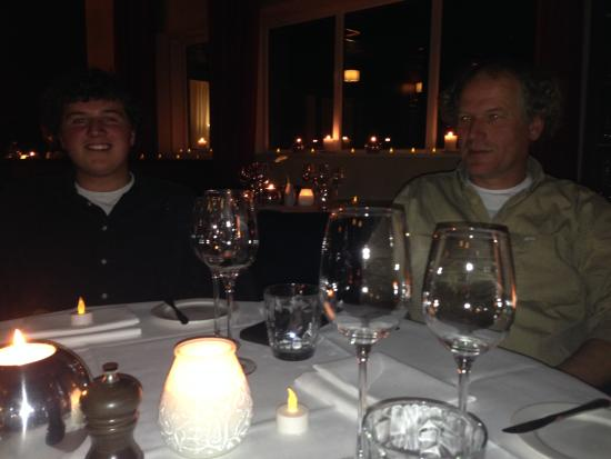 Terschelling, Nederland: Candlelight dinner op West