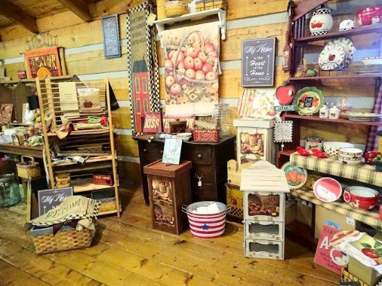 Townsend, TN: inside country store