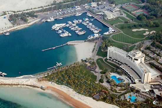 Ja Jebel Ali Beach Hotel Aerial View Of The And Marina