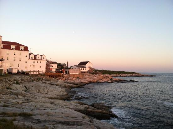 Star Island Family Retreat and Conference Center: Part of the Oceanic Hotel and outbuildings