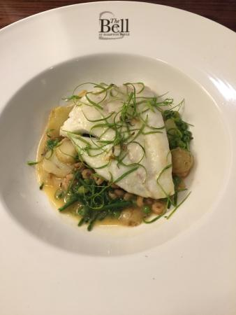 The Bell at Hampton Poyle: Turbot Main Course