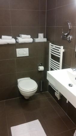 Beste Toilet en handdoeken. - Foto van Europa Hotel, Gent - TripAdvisor DZ-88