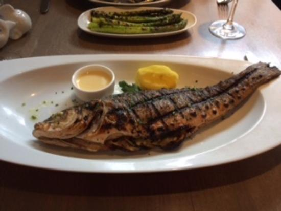 Branzino with lemon beurre blanc and asparagus picture for Passion fish bethesda