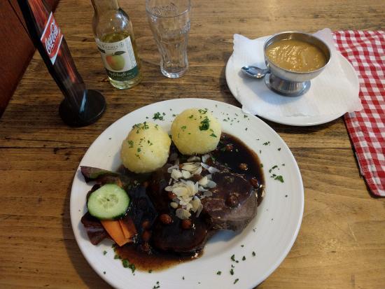 Rheinischer Sauerbraten (pot roast) - Bild von Oma\'s Küche, Köln ...