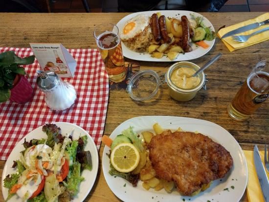 "Schnitzel ""Wiener Art"" and Oma`s Rosenkranz - Picture of Oma\'s ..."