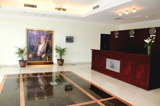 Sohar Beach Hotel: Reception