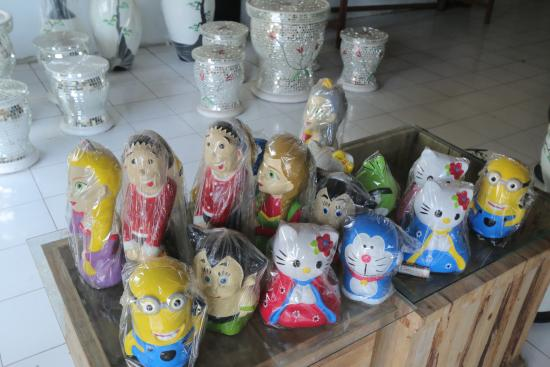 Toys Made Up Of Clay Picture Of Kasongan Travel Village