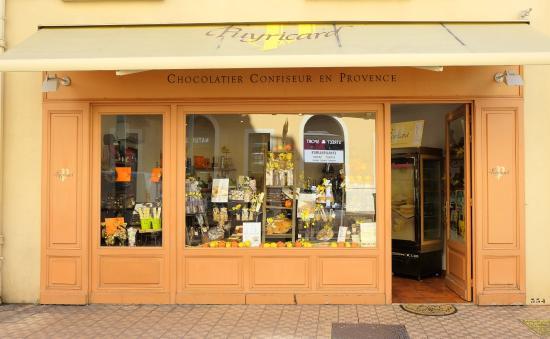 Chocolaterie de Puyricard Menton