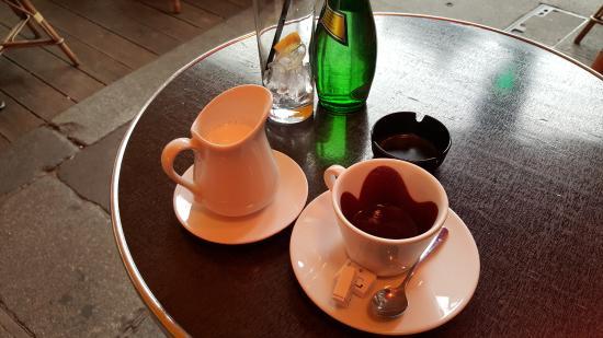 chocolat chaud A l'ancienne ! - Picture of Le Mondrian ...