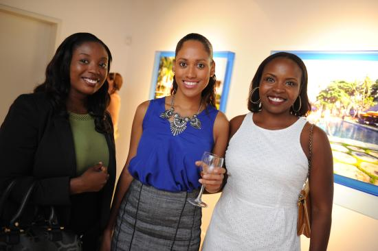 National Gallery of the Cayman Islands: Guests enjoy an event at the National Gallery