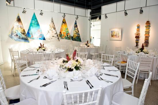 National Gallery of the Cayman Islands: The NGCI Venue is available for hire. For weddings, private events and corporate functions.